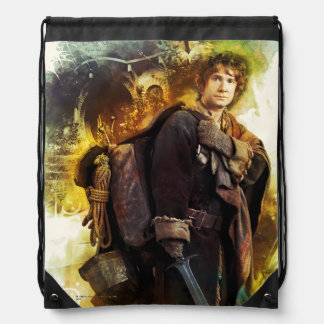 BILBO BAGGINS™ & The Company of Dwarves Graphic Drawstring Backpack