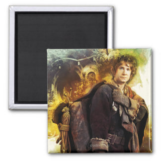 BILBO BAGGINS™ & The Company of Dwarves Graphic Magnet