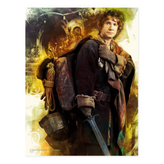 BILBO BAGGINS™ & The Company of Dwarves Graphic Postcard