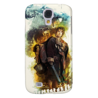 BILBO BAGGINS™ & The Company of Dwarves Graphic Samsung Galaxy S4 Cover