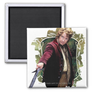 BILBO BAGGINS™ with Sword Refrigerator Magnet