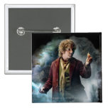 BILBO BAGGINS™ With The Ring 2 Inch Square Button