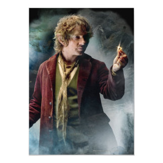 """BILBO BAGGINS™ With The Ring 5"""" X 7"""" Invitation Card"""
