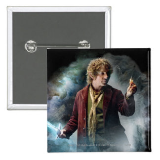 BILBO BAGGINS™ With The Ring Pinback Button