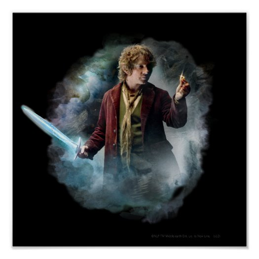 BILBO BAGGINS™ With The Ring Poster