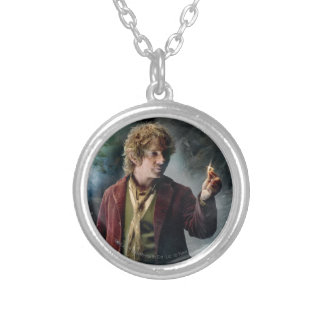 BILBO BAGGINS™ With The Ring Round Pendant Necklace
