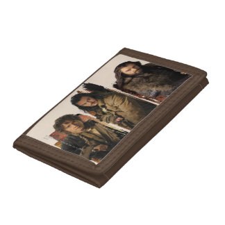 Bilbo, Bard, and Thorin Graphic Trifold Wallets