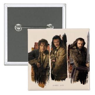 Bilbo bardo y gráfico de Thorin Pin