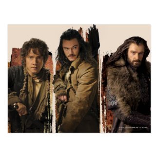 Bilbo bardo y gráfico de Thorin Tarjetas Postales