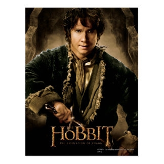 Bilbo Character Poster 1 Postcards