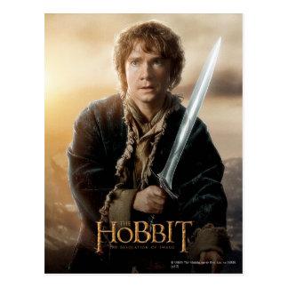 Bilbo Character Poster 2 Post Card