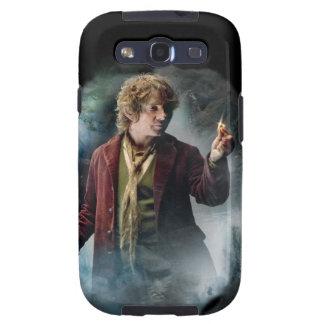 Bilbo con el anillo galaxy SIII carcasa