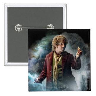 Bilbo con el anillo pin