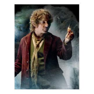 Bilbo con el anillo tarjetas postales