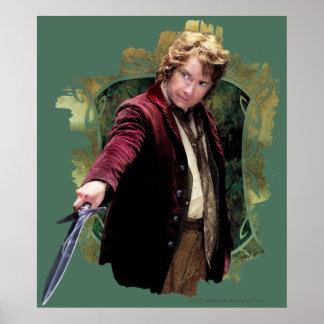 Bilbo con la espada posters