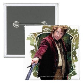 Bilbo con la espada pins