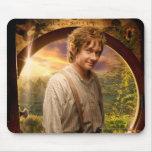 Bilbo en collage del condado alfombrillas de ratón