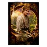 Bilbo en collage del condado felicitación