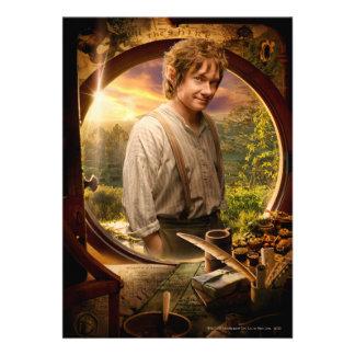 Bilbo en collage del condado comunicado personal