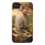 Bilbo en collage del condado iPhone 4 coberturas