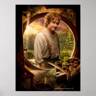 Bilbo en collage del condado impresiones