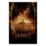 Bilbo en el ojo de Smaug