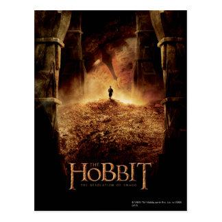 Bilbo en el ojo de Smaug Postal