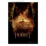 Bilbo en el ojo de Smaug Tarjeton