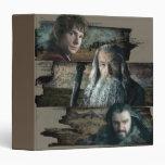 Bilbo, Gandalf, y Thorin