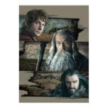 Bilbo, Gandalf, y Thorin Anuncios