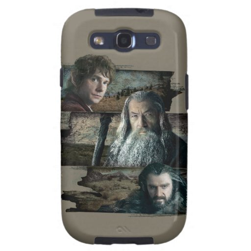 Bilbo, Gandalf, y Thorin Samsung Galaxy S3 Cárcasa