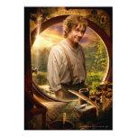 Bilbo in Shire Collage Custom Invite
