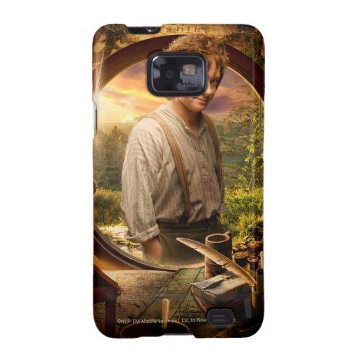 Bilbo in Shire Collage Galaxy S2 Cases