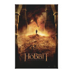 Bilbo in the Eye of Smaug Canvas Prints