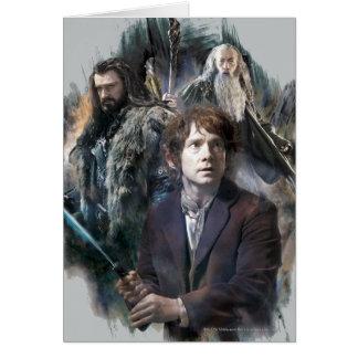 Bilbo, Thorin, and Gandalf Cards