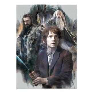 Bilbo, Thorin, and Gandalf Announcement