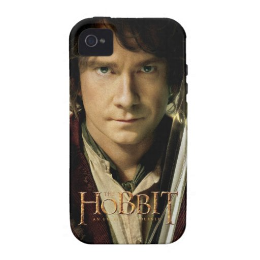 Bilbo with Sword iPhone 4 Covers