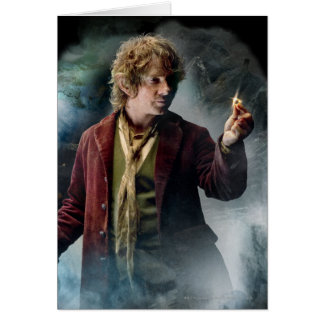 Bilbo With The Ring Card