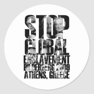 Bilderberg (ANTI-NWO War) Stickers