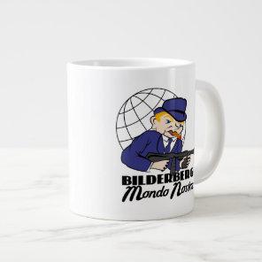 Bilderberg Mondo Nostra Large Coffee Mug