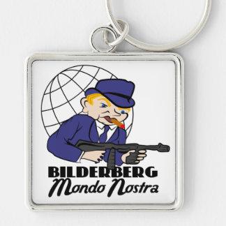 Bilderberg Mondo Nostra Llavero Personalizado