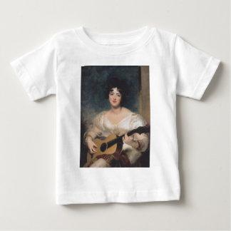Bildnis der Lady Walls Baby T-Shirt
