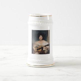 Bildnis der Lady Walls Beer Stein