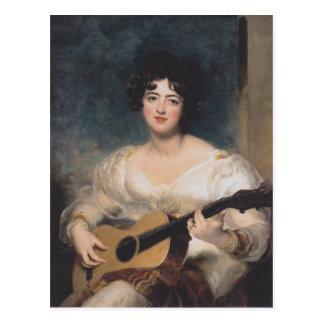 Bildnis der Lady Walls Postcard