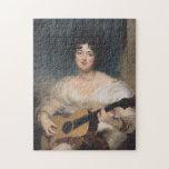 Bildnis der Lady Wallscourt bei Puzzles