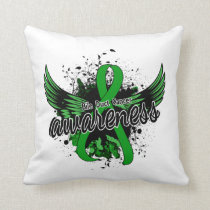 Bile Duct Cancer Awareness 16 Throw Pillow
