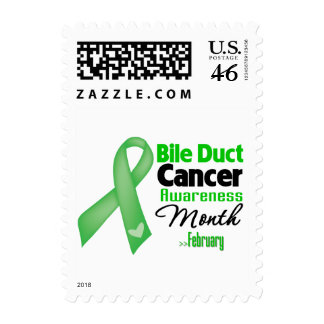 Bile Duct Cancer Awareness Month Postage Stamps