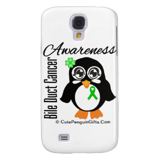 Bile Duct Cancer Awareness Penguin Samsung Galaxy S4 Cases