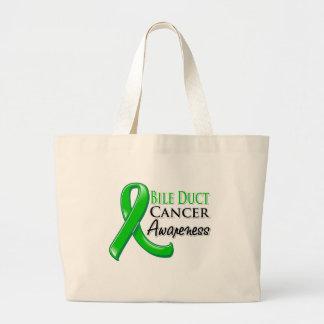 Bile Duct Cancer Awareness Ribbon Bags