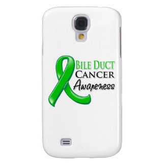 Bile Duct Cancer Awareness Ribbon Samsung Galaxy S4 Case